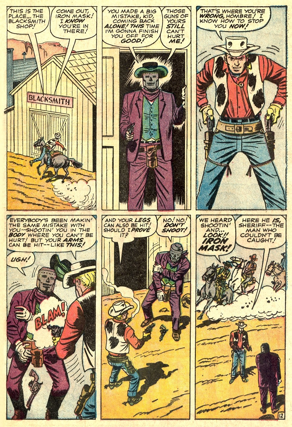 Kid Colt Outlaw issue 110 - Page 17