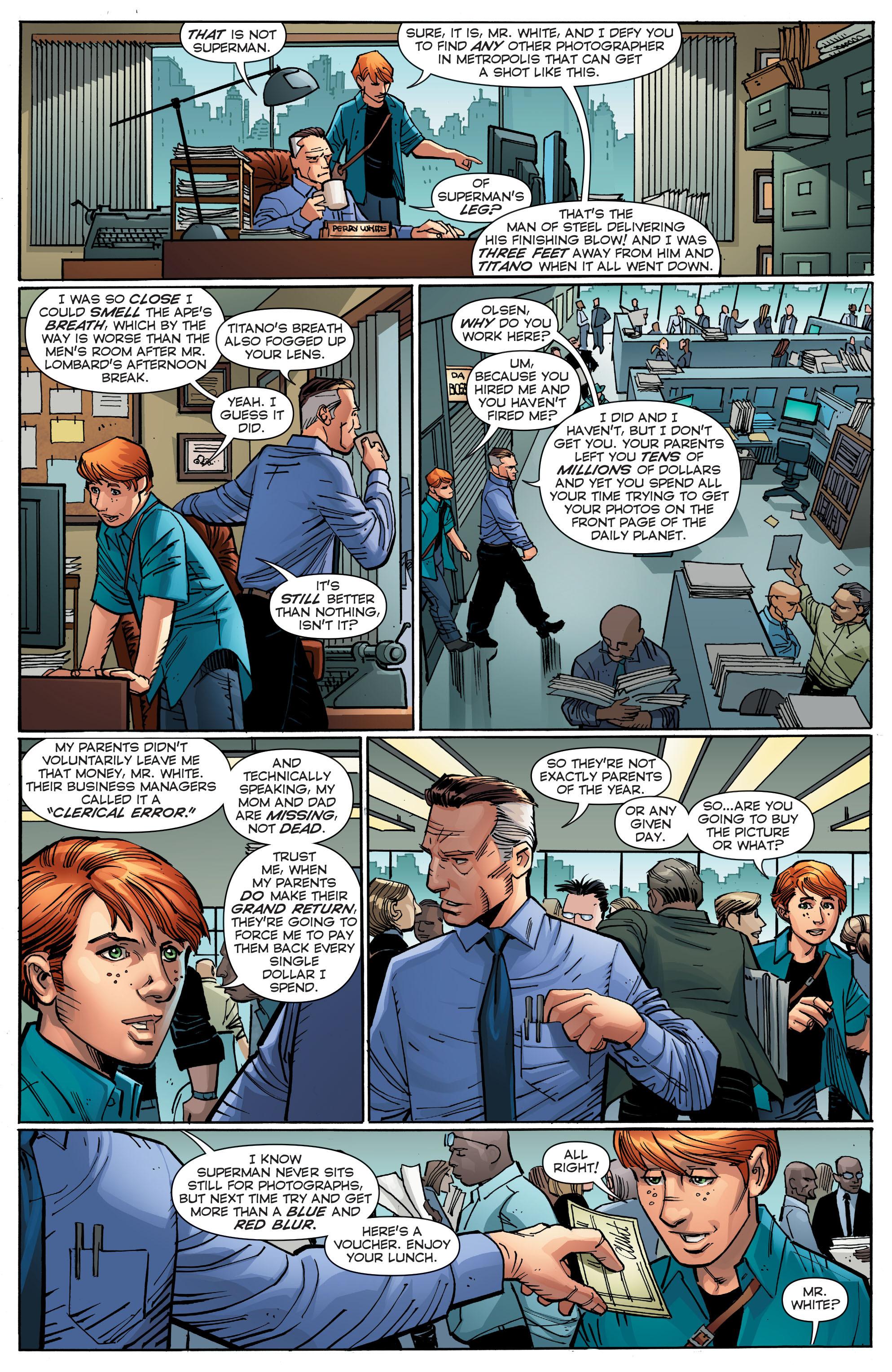 Read online Trinity of Sin: Pandora comic -  Issue #11 - 22