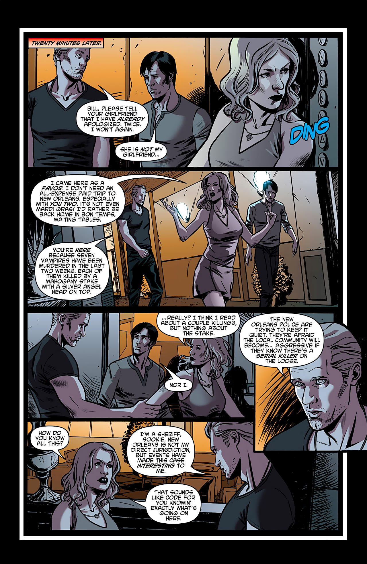 Read online True Blood: French Quarter comic -  Issue #1 - 11