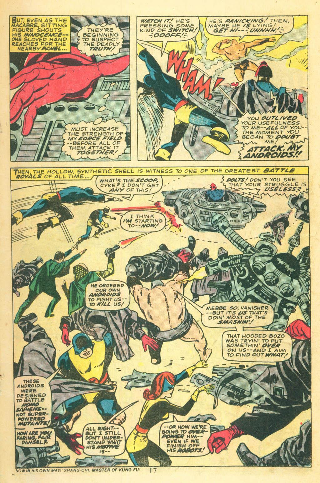 Read online Uncanny X-Men (1963) comic -  Issue #87 - 19