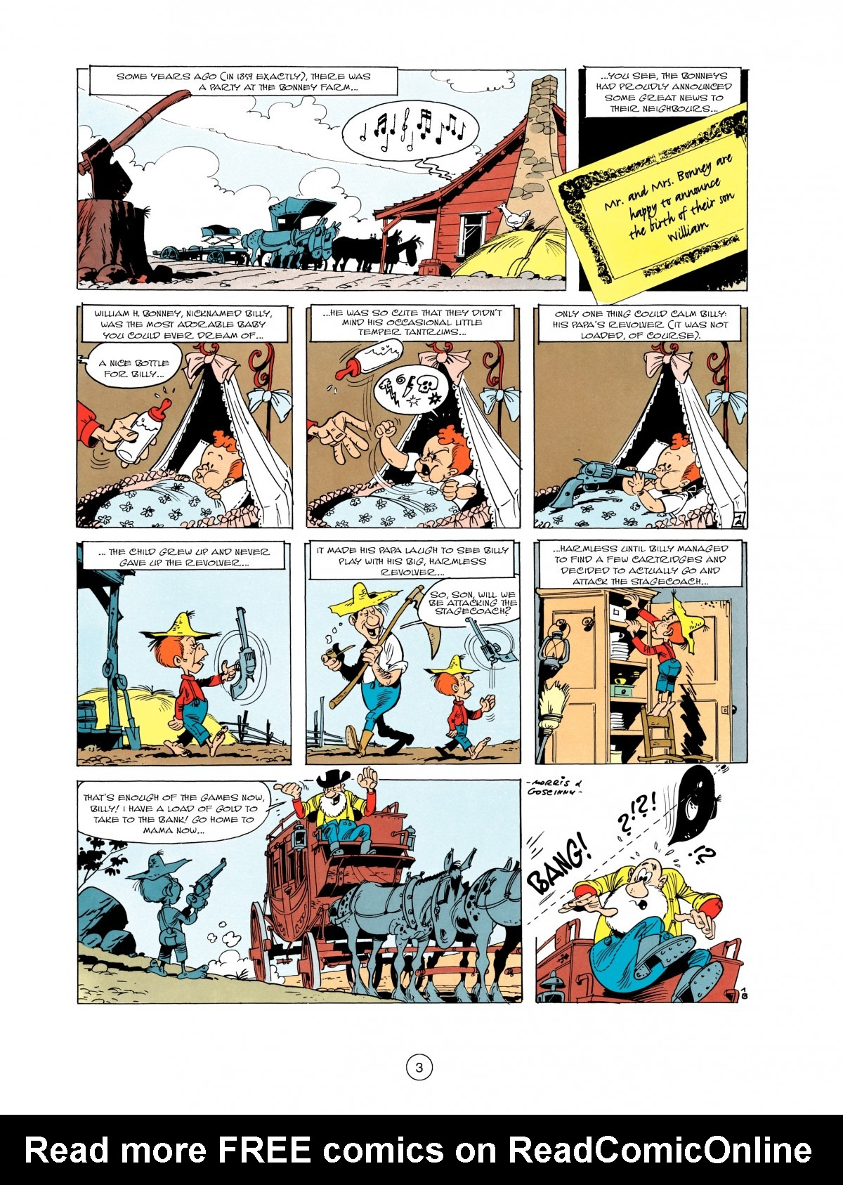 Read online A Lucky Luke Adventure comic -  Issue #1 - 5