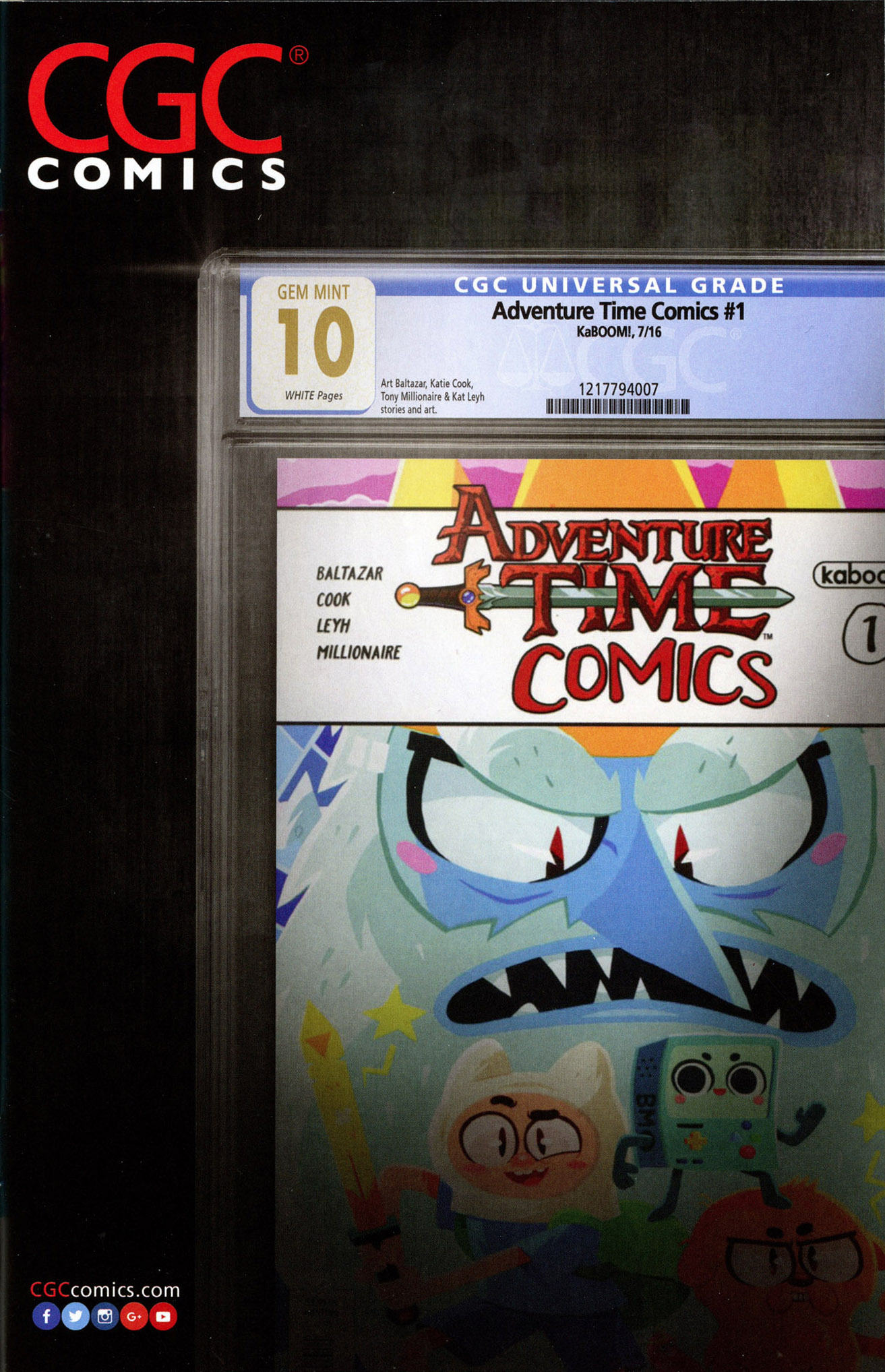 Read online Adventure Time Comics comic -  Issue #7 - 25