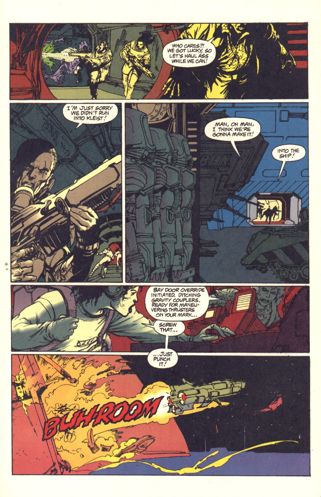 Read online Aliens: Rogue comic -  Issue #1 - 106