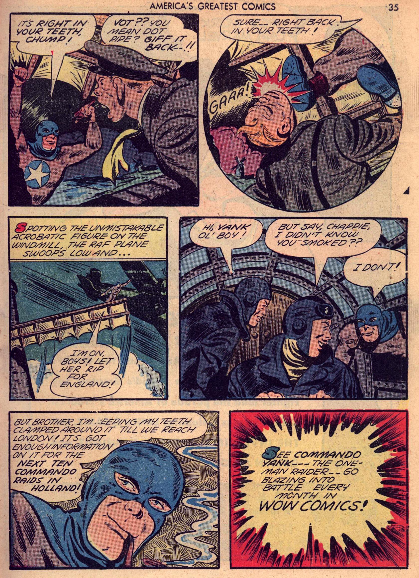 Read online America's Greatest Comics comic -  Issue #7 - 34