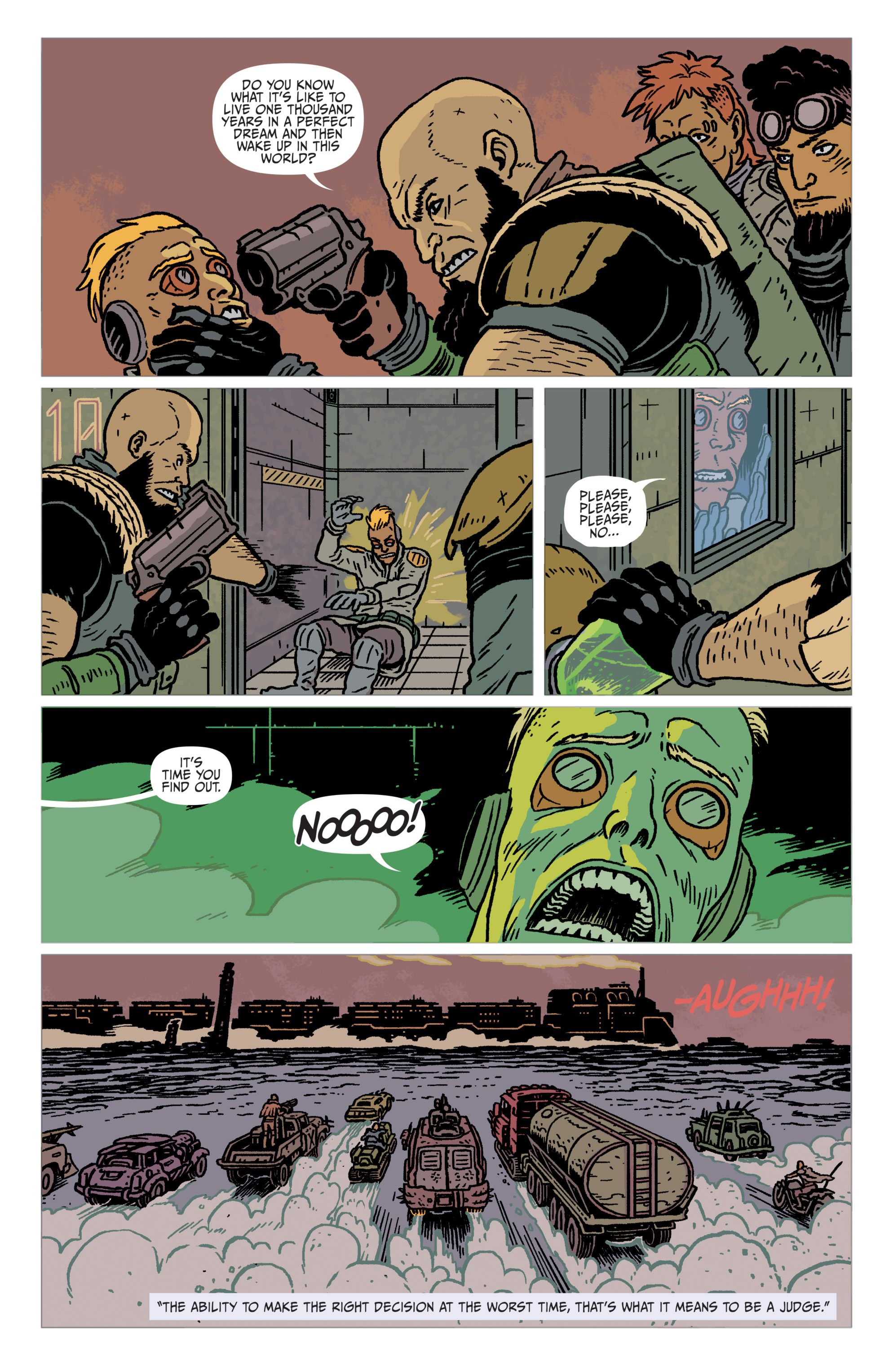 Read online Judge Dredd: The Blessed Earth comic -  Issue #2 - 6