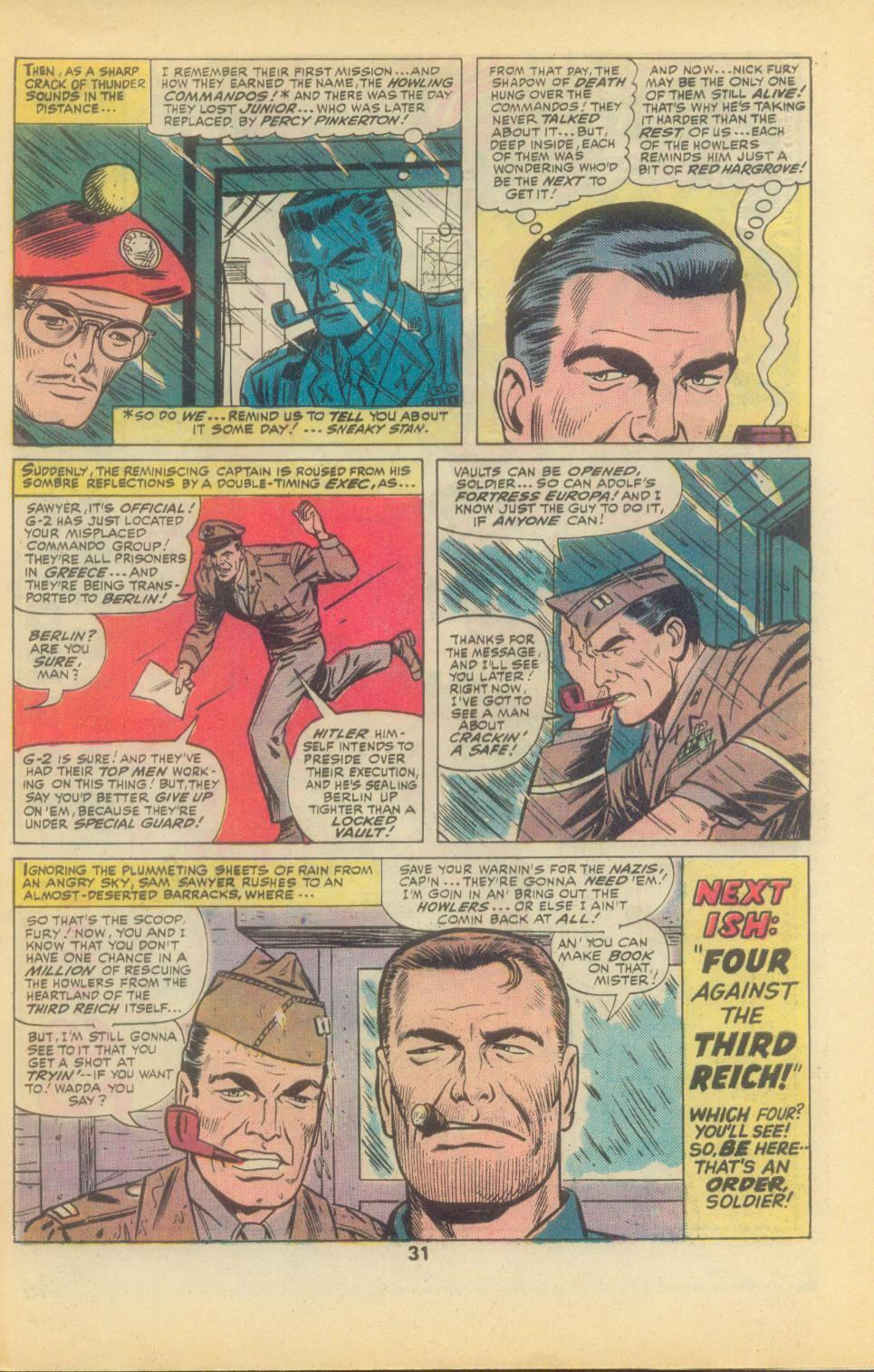 Read online Sgt. Fury comic -  Issue #136 - 33