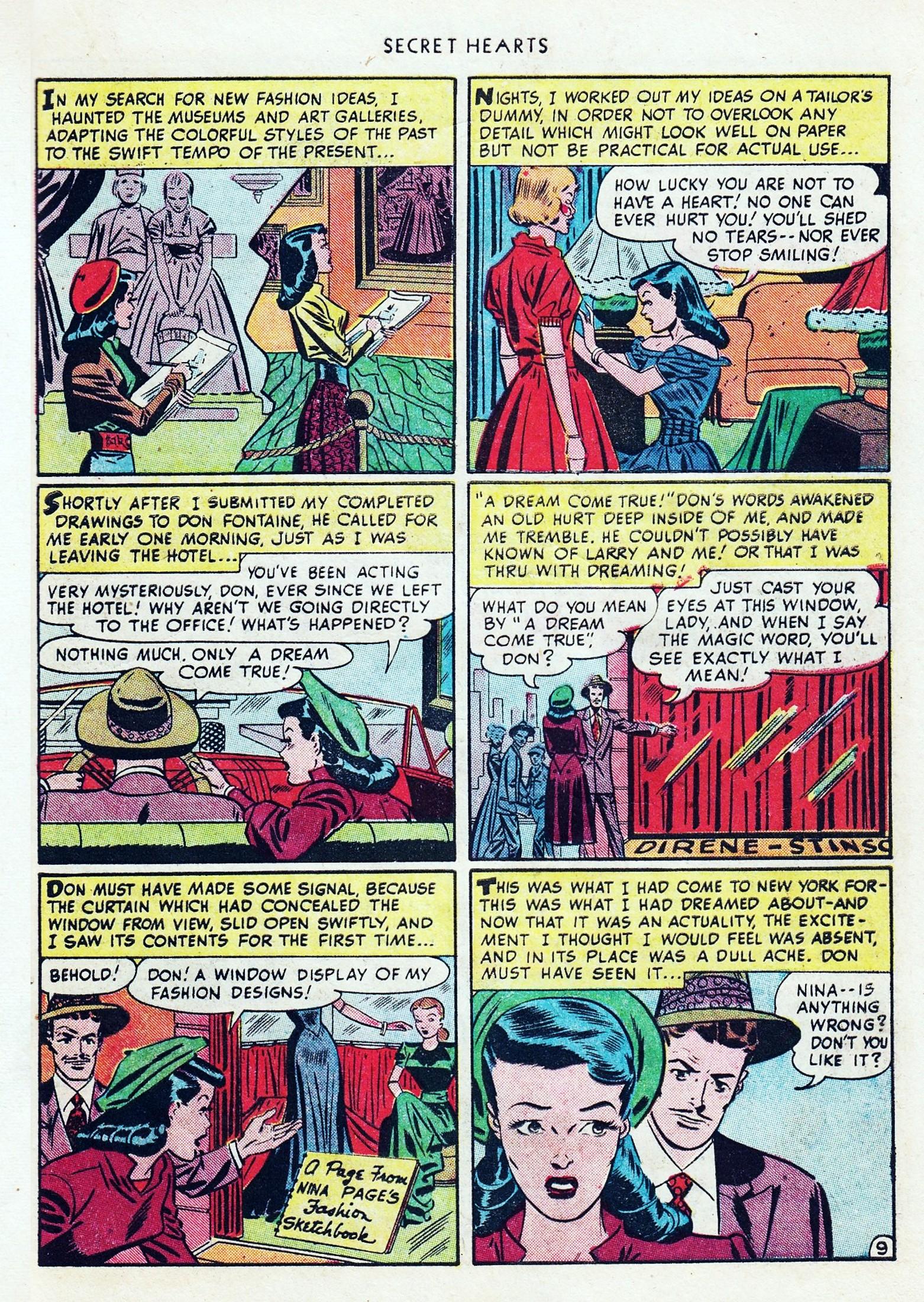 Read online Secret Hearts comic -  Issue #1 - 45