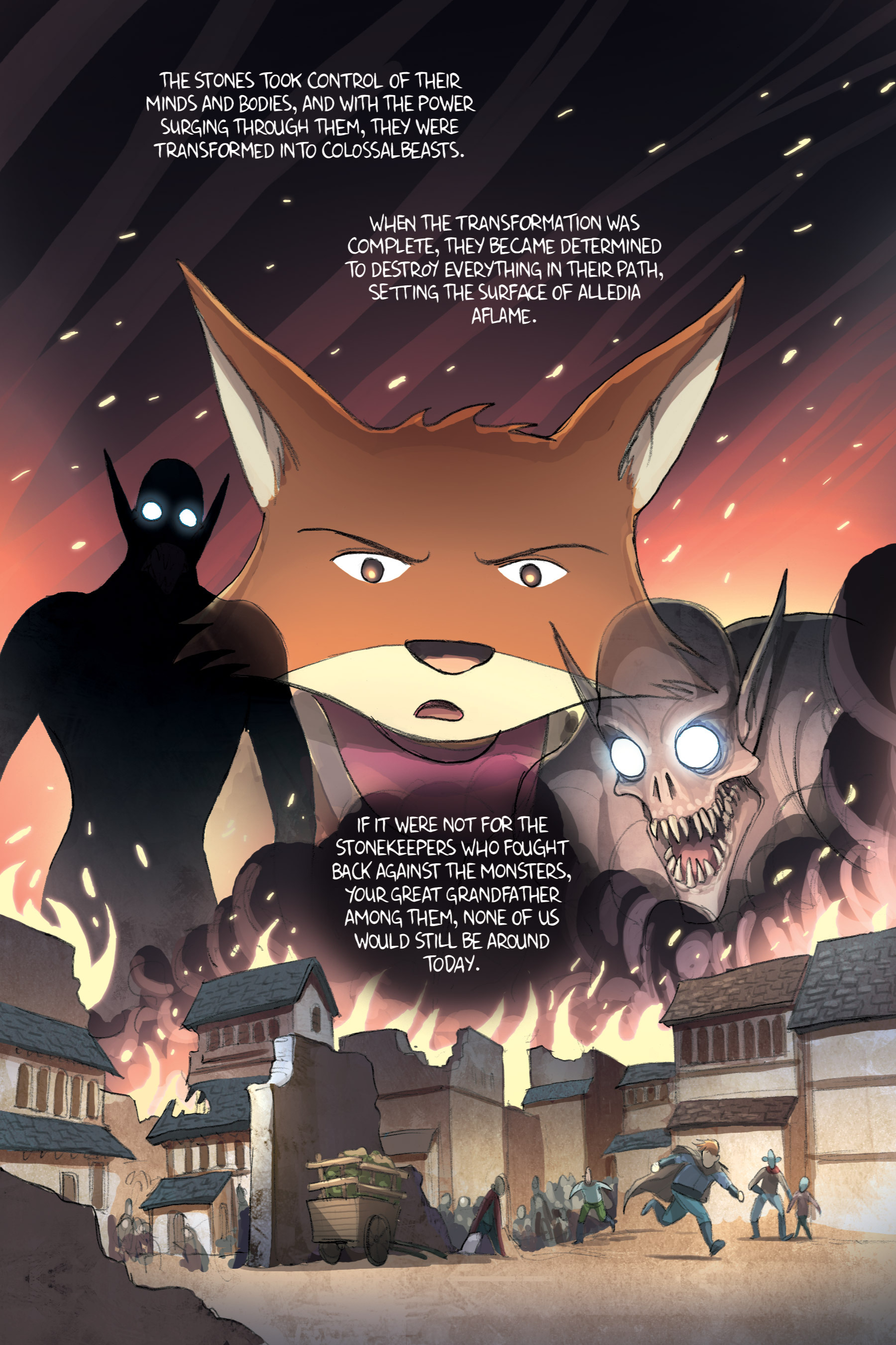 Read online Amulet comic -  Issue #2 - 122