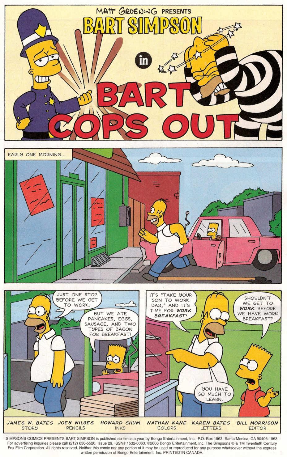 Read online Simpsons Comics Presents Bart Simpson comic -  Issue #29 - 2