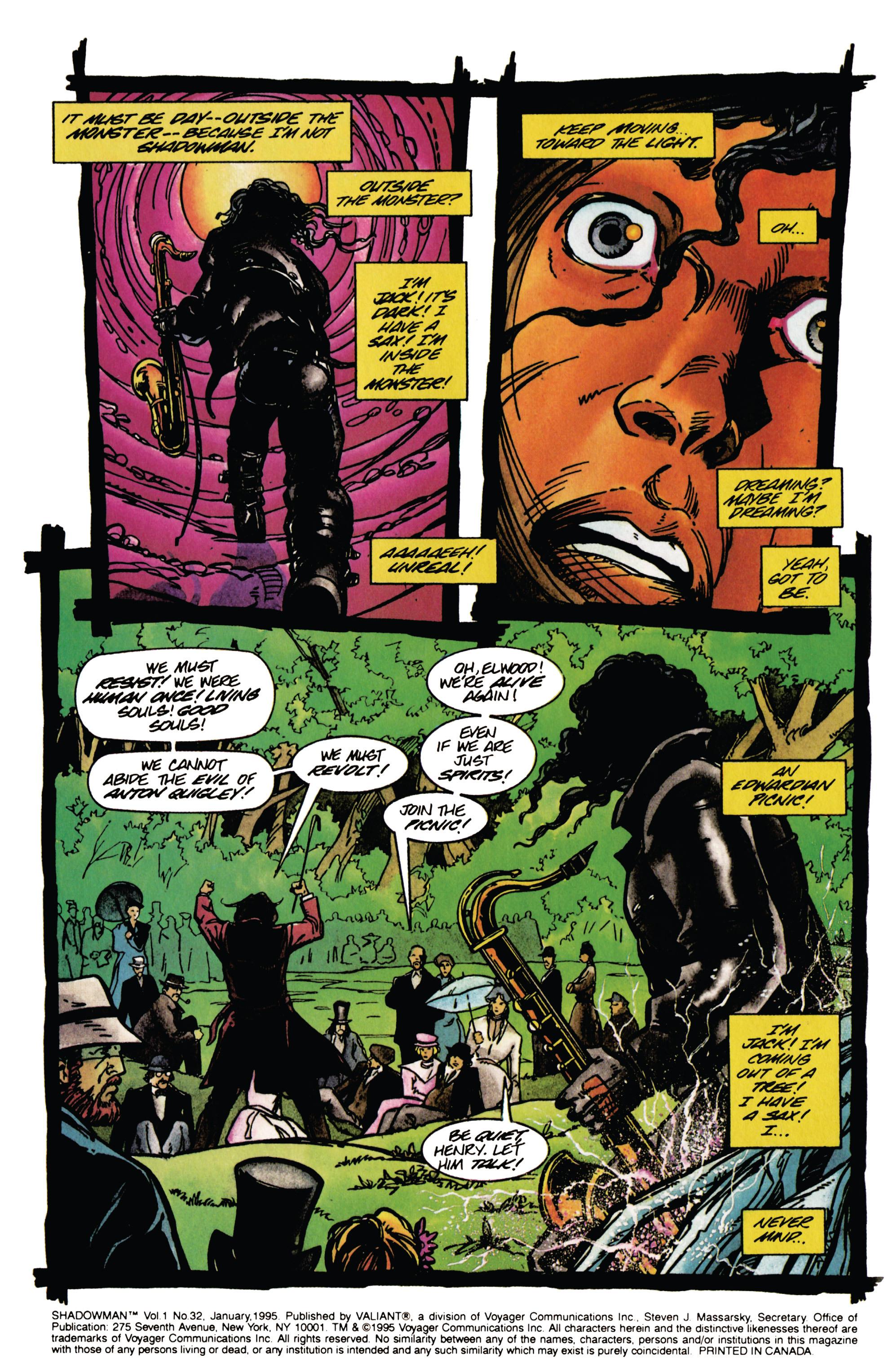 Read online Shadowman (1992) comic -  Issue #32 - 3