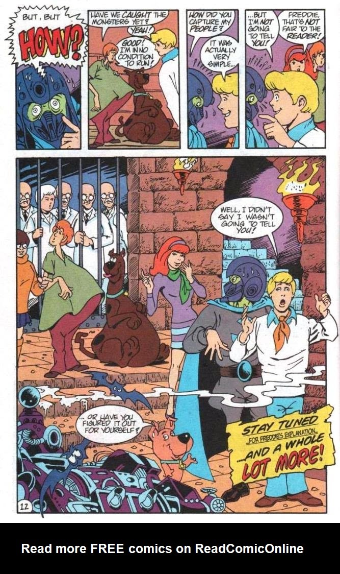 Read online Scooby-Doo (1995) comic -  Issue #5 - 13
