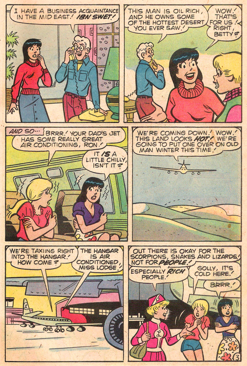 Read online Archie's Girls Betty and Veronica comic -  Issue #280 - 31