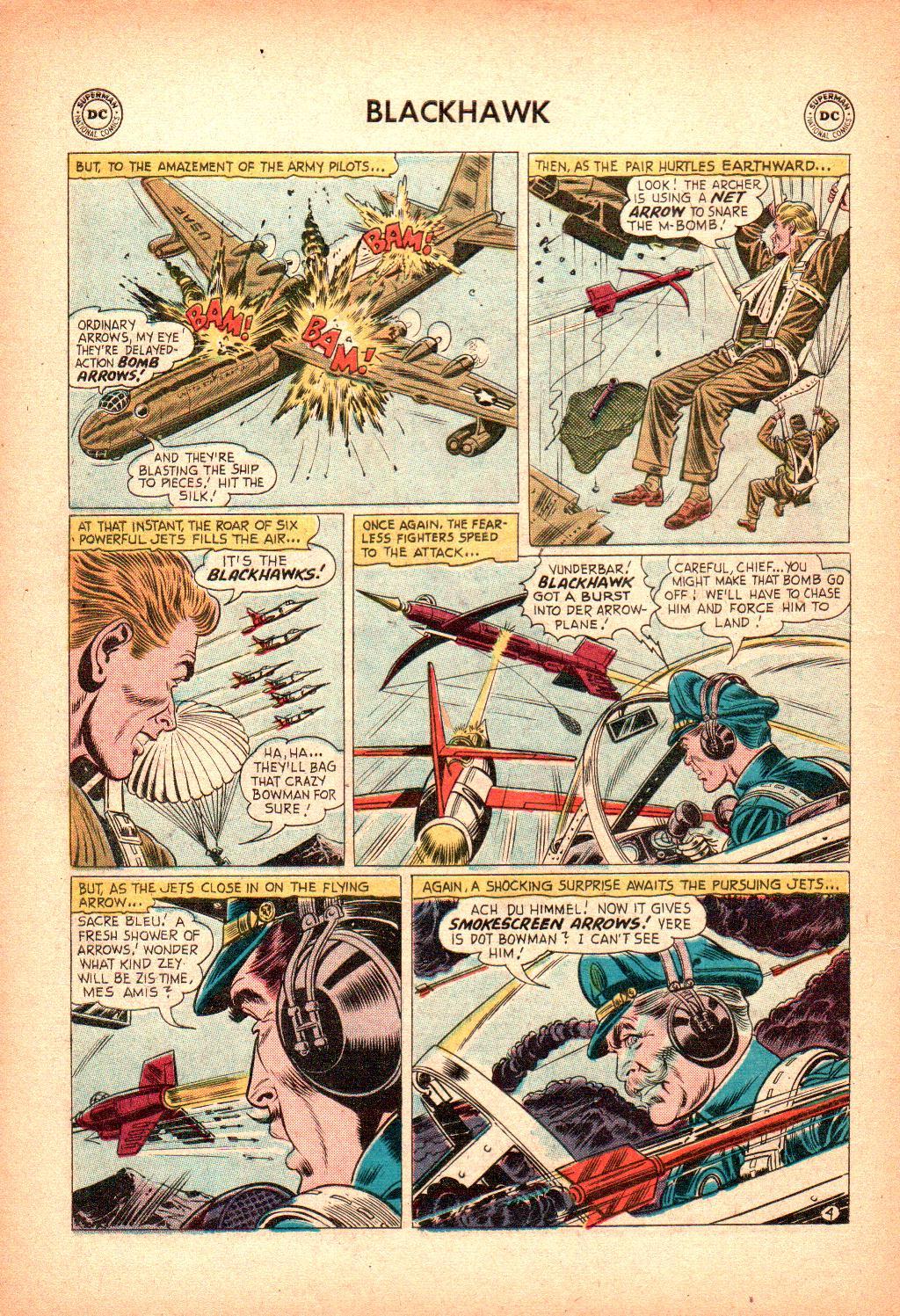 Blackhawk (1957) Issue #128 #21 - English 6