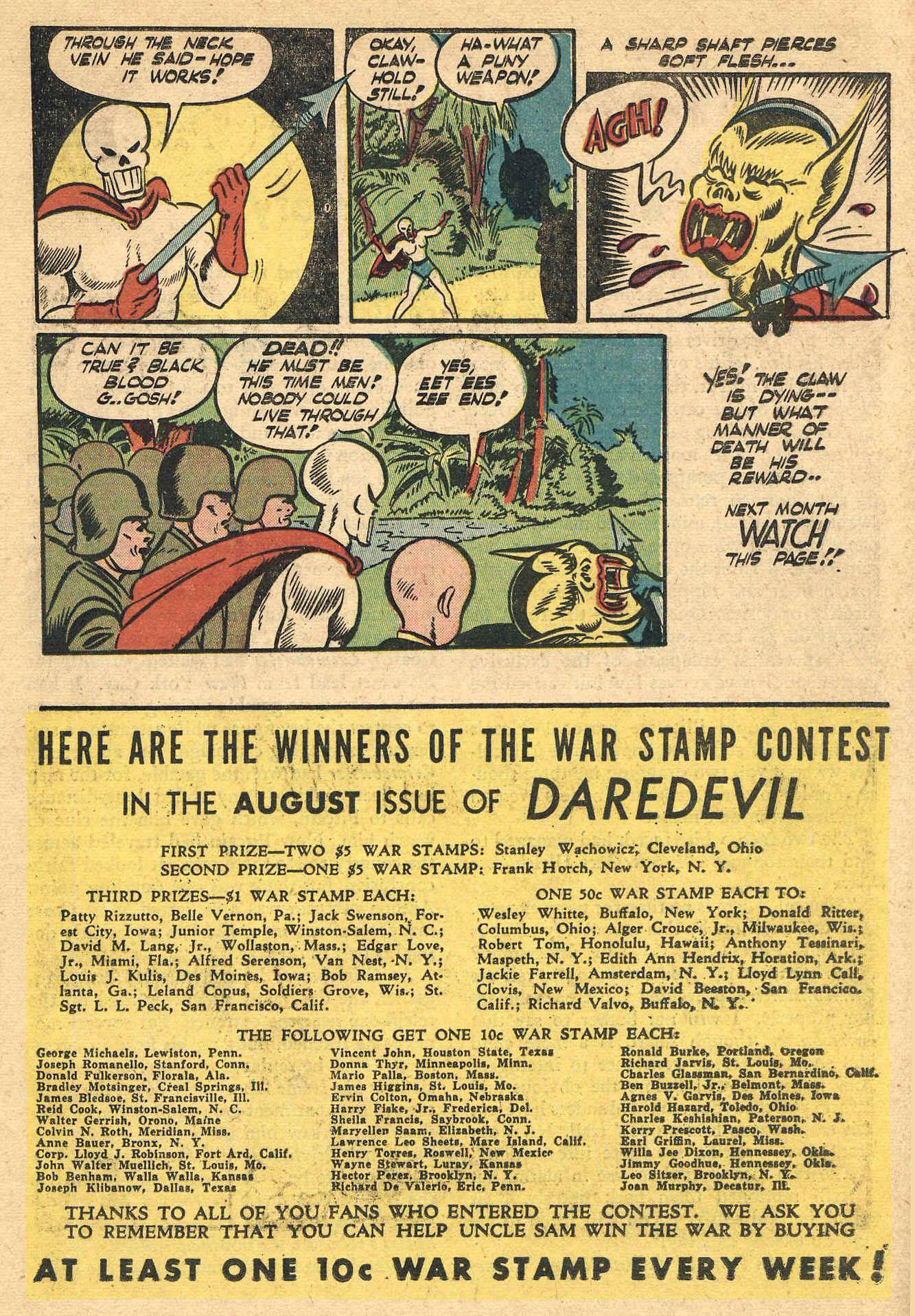 Daredevil (1941) issue 16 - Page 41
