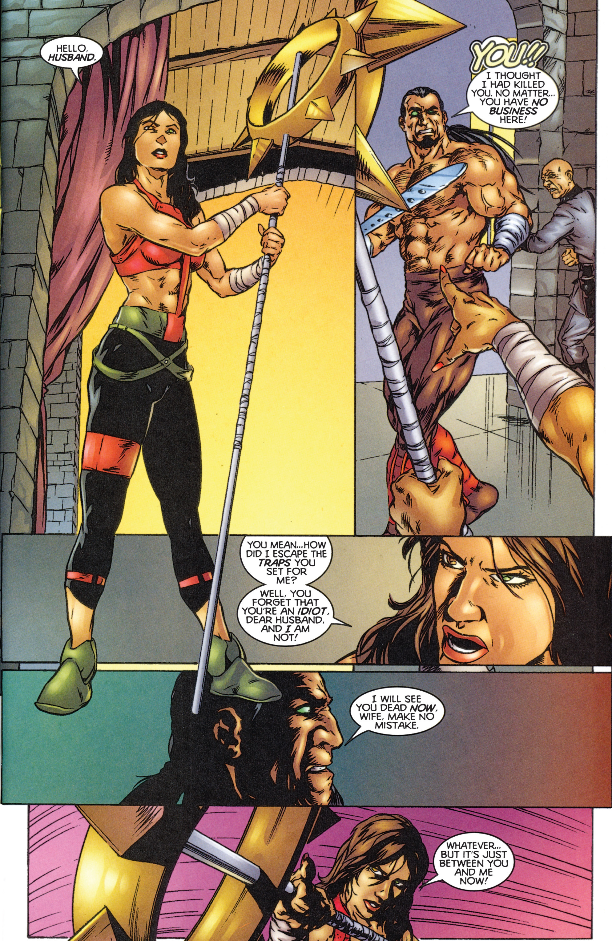 Read online Eternal Warriors comic -  Issue # Issue The Immortal Enemy - 27
