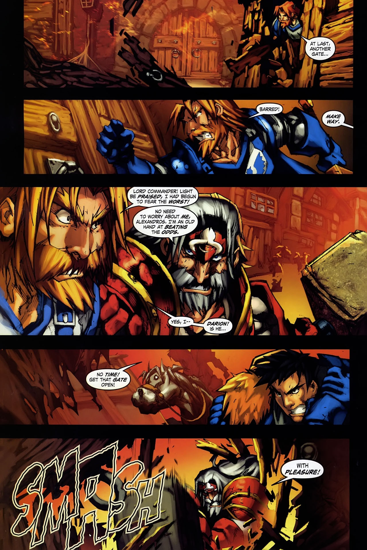 Read online World of Warcraft: Ashbringer comic -  Issue #1 - 24