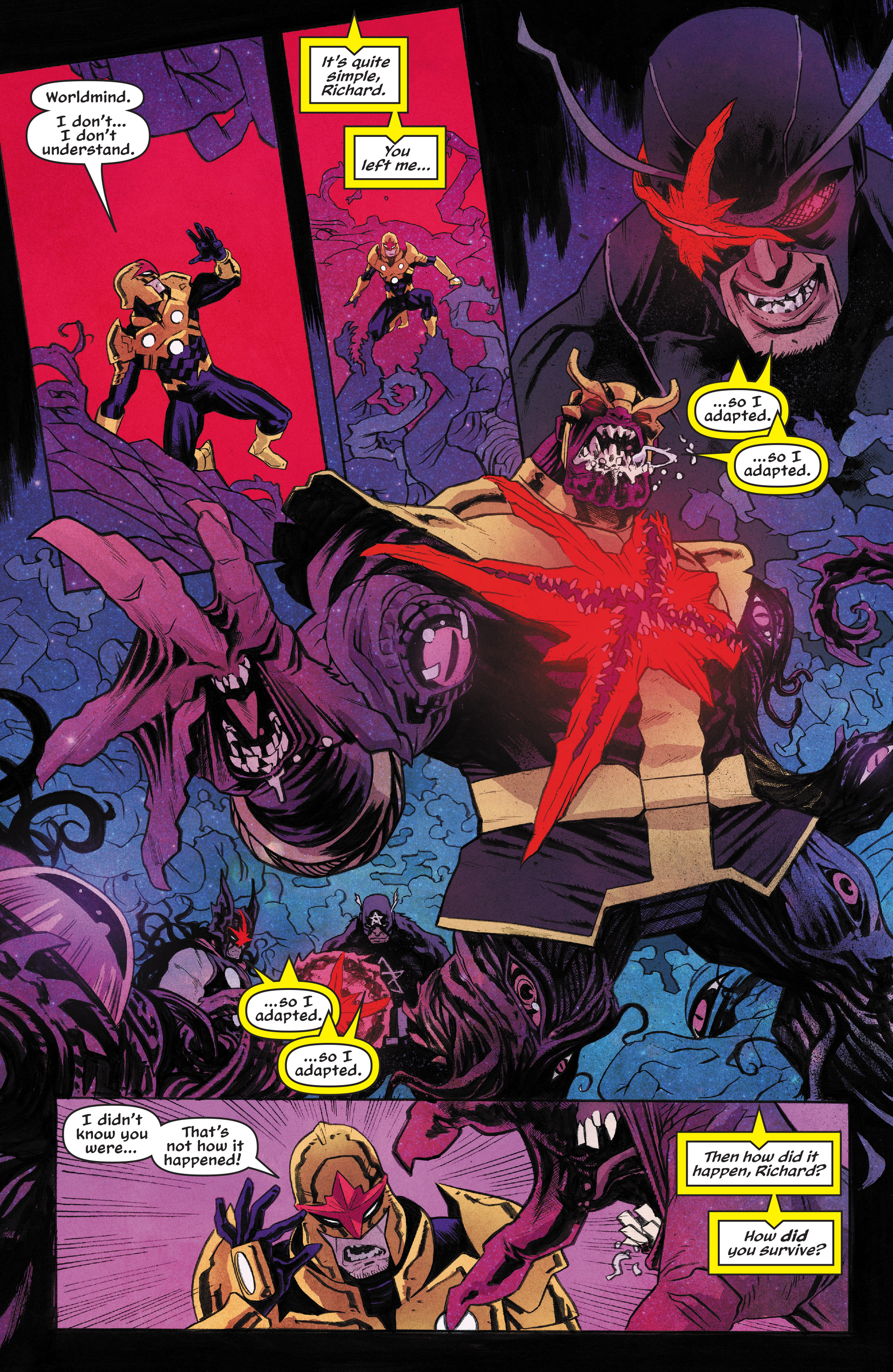 Read online Nova (2017) comic -  Issue #6 - 3