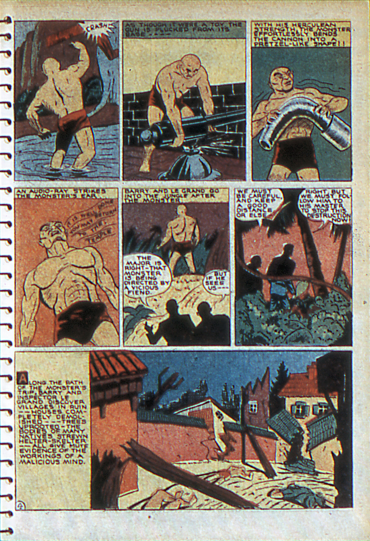 Read online Adventure Comics (1938) comic -  Issue #55 - 16