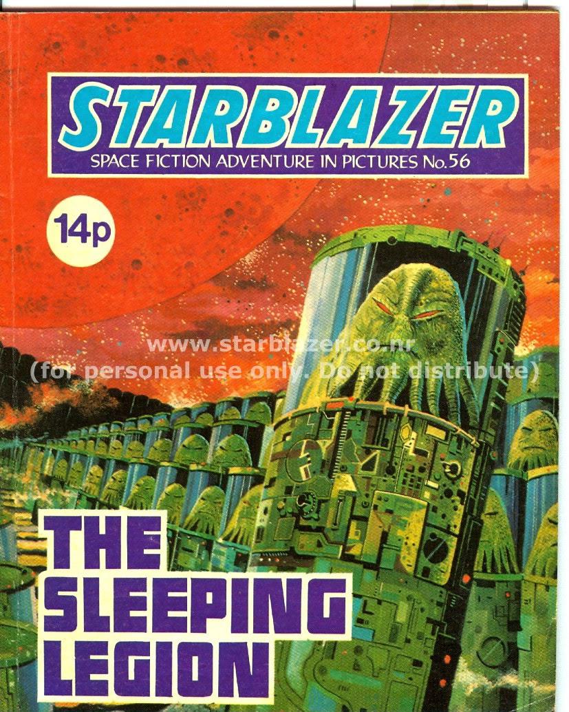 Starblazer issue 56 - Page 1