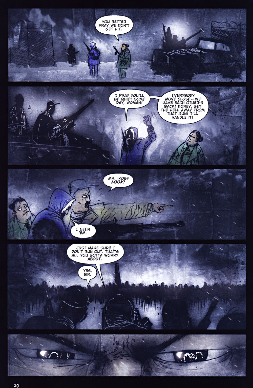 Read online 30 Days of Night: Return to Barrow comic -  Issue #5 - 21