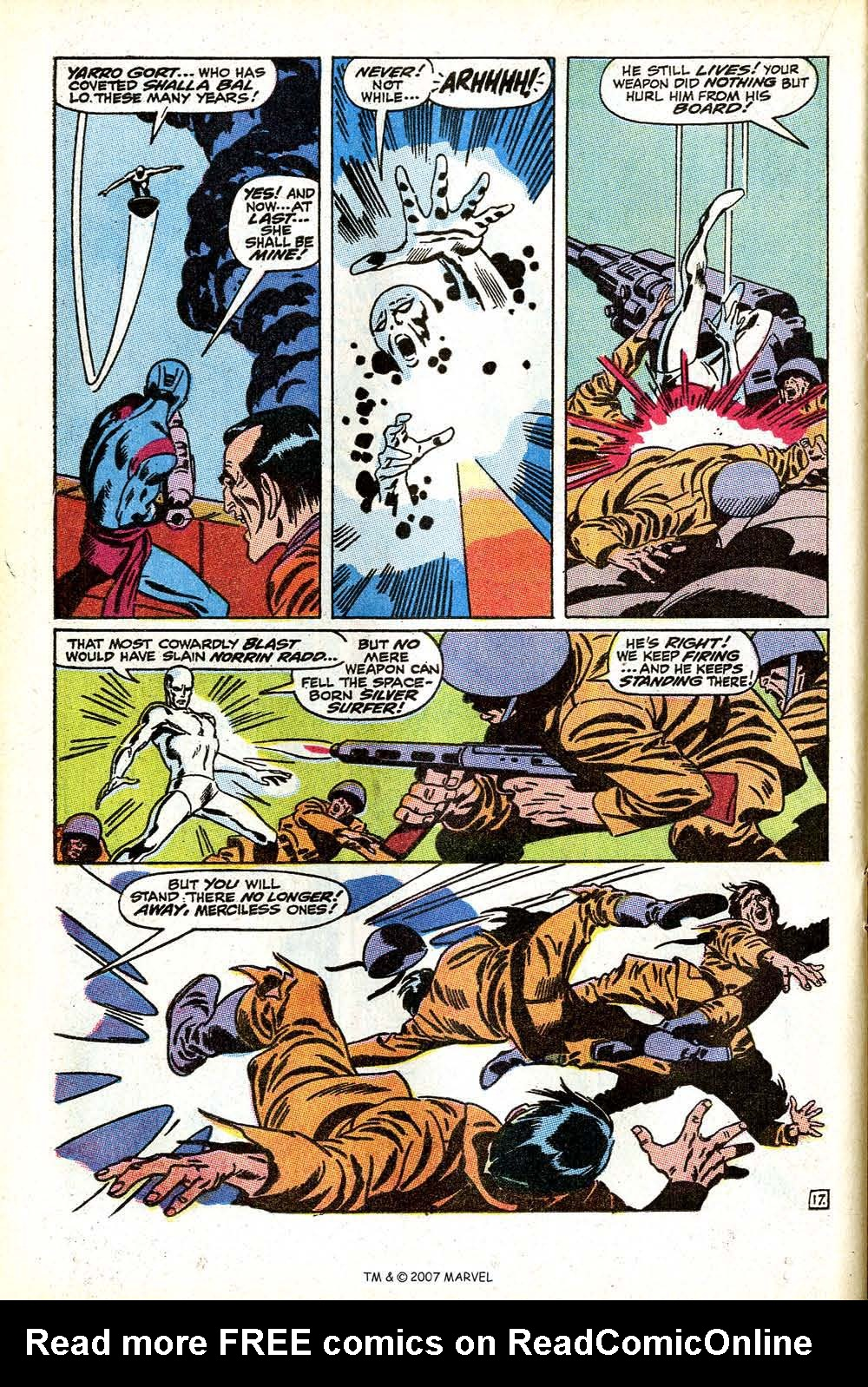 Read online Silver Surfer (1968) comic -  Issue #11 - 24