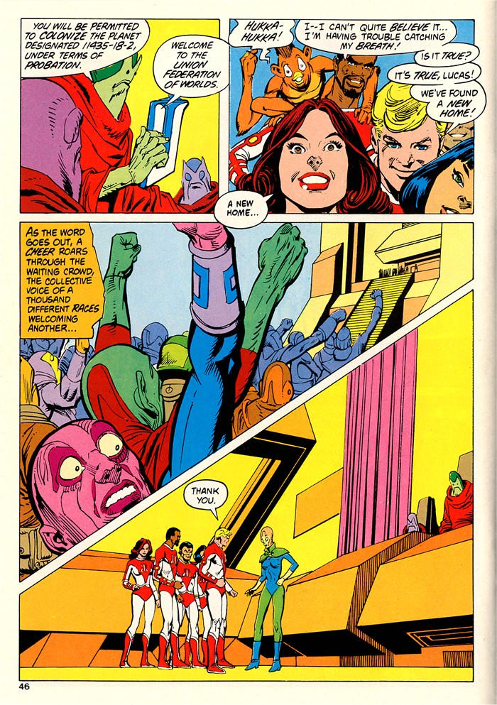 Read online Atari Force (1982) comic -  Issue #5 - 44