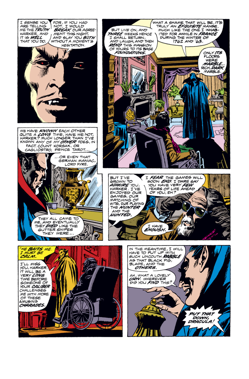 Tomb of Dracula (1972) issue 33 - Page 10