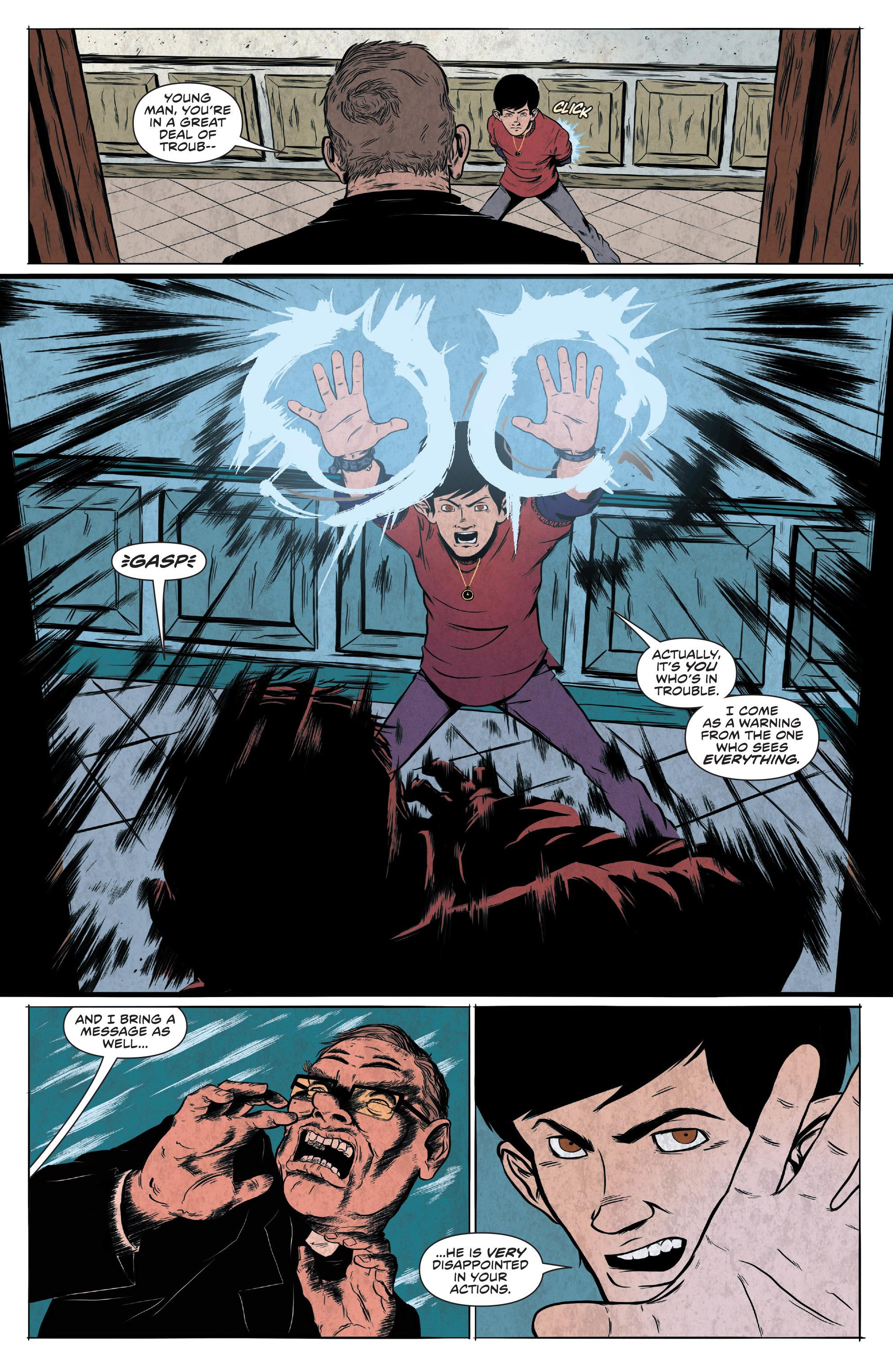 Read online Translucid comic -  Issue #5 - 16