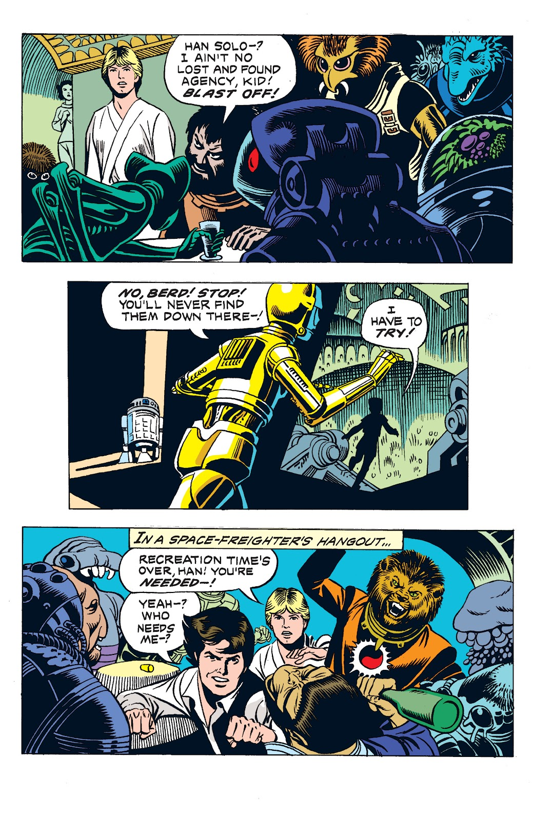 Read online Star Wars Legends: The Newspaper Strips - Epic Collection comic -  Issue # TPB (Part 3) - 9