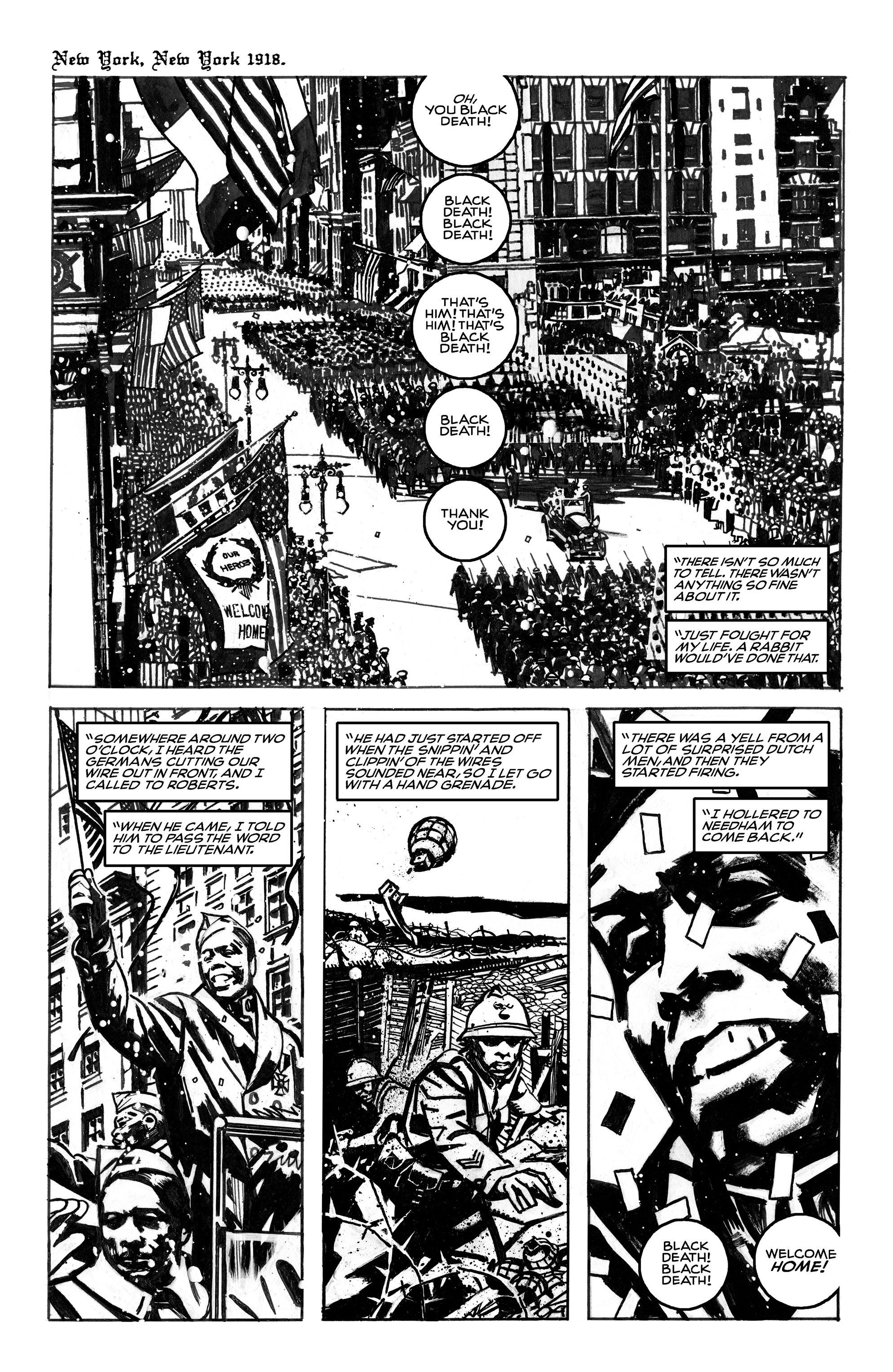 Read online Black Death in America comic -  Issue # Full - 2