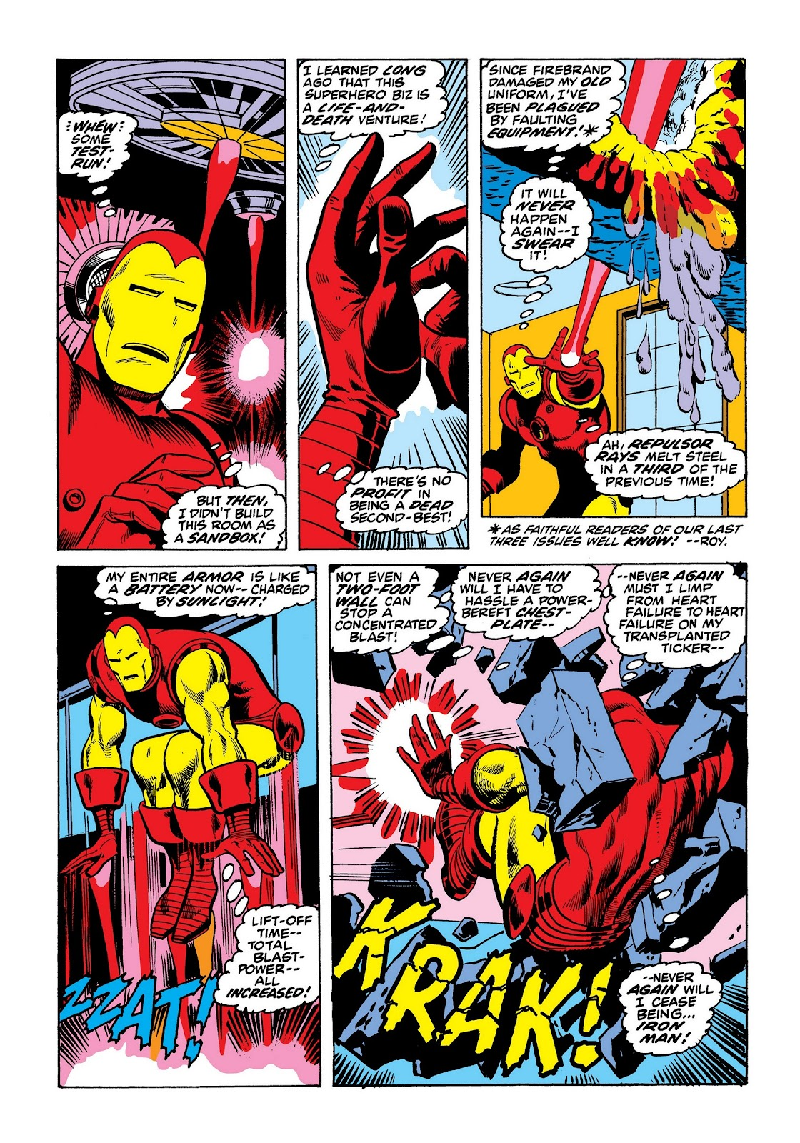 Read online Marvel Masterworks: The Invincible Iron Man comic -  Issue # TPB 8 (Part 3) - 76