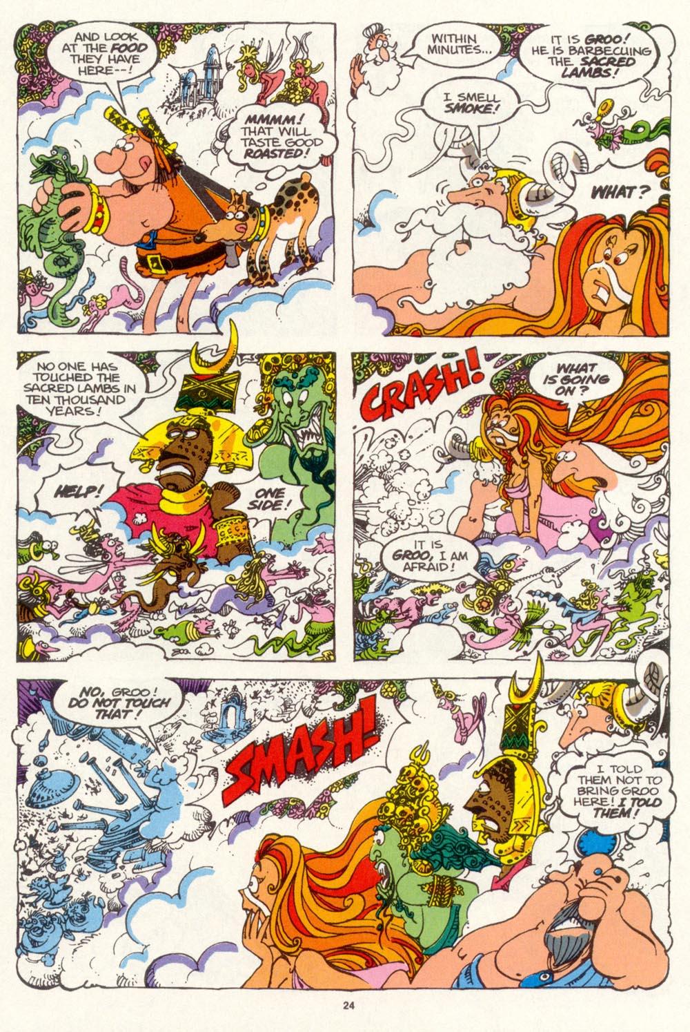 Read online Sergio Aragonés Groo the Wanderer comic -  Issue #99 - 25