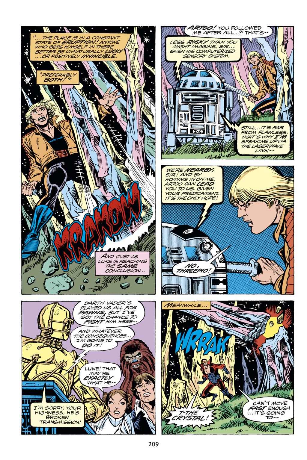 Read online Star Wars Omnibus comic -  Issue # Vol. 14 - 208