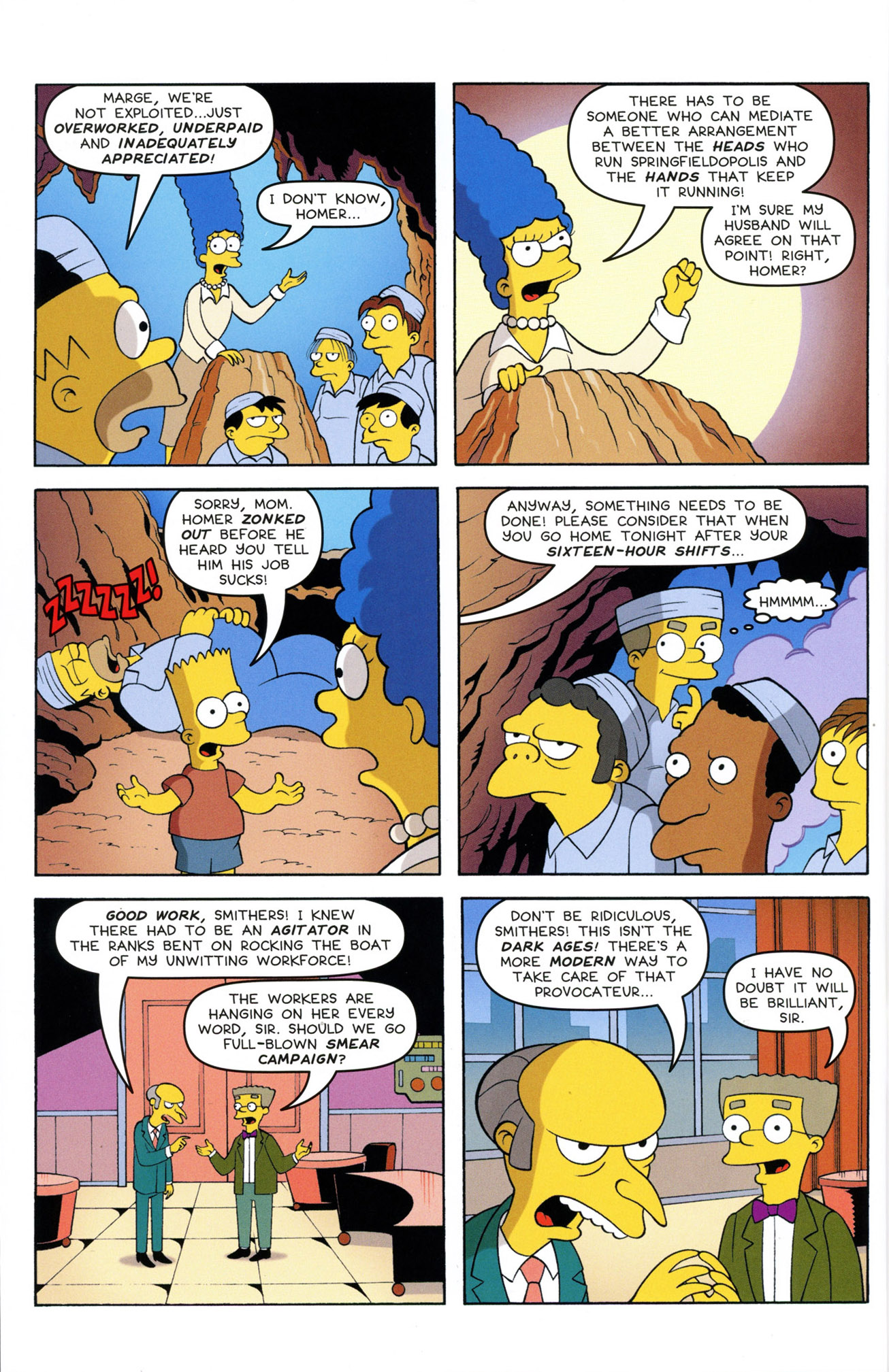 Read online Treehouse of Horror comic -  Issue #21 - 38
