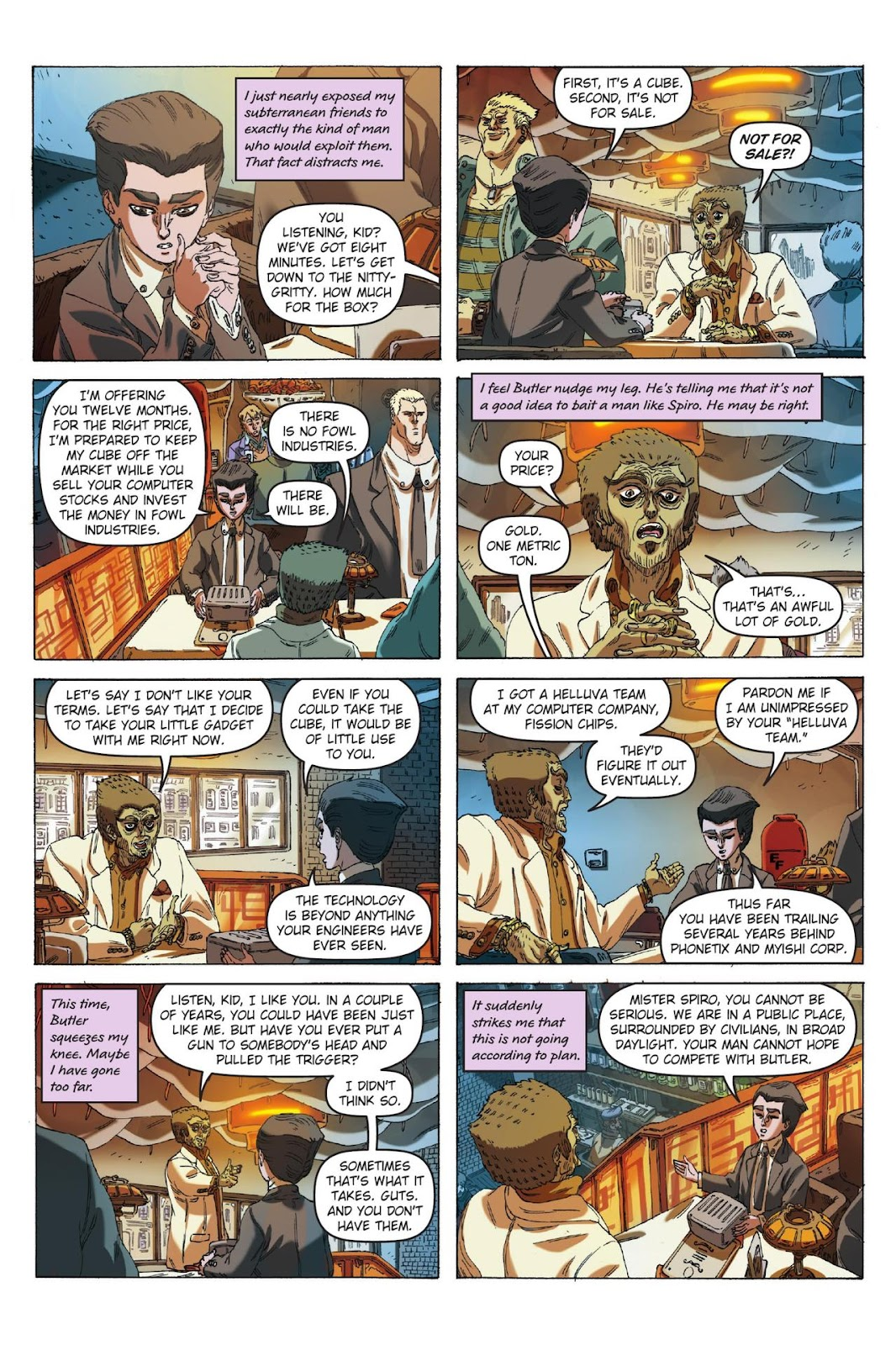 Artemis Fowl: The Eternity Code issue TPB - Page 12