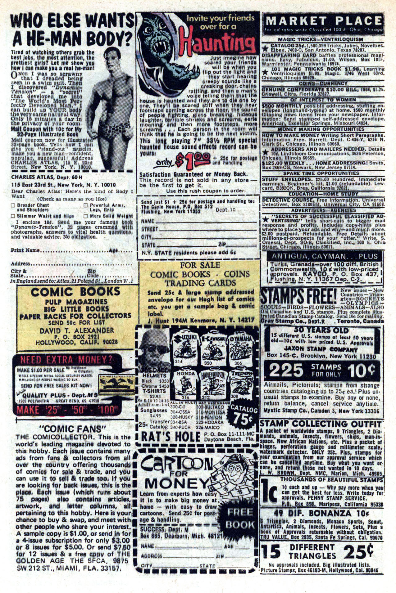 Read online Amazing Adventures (1970) comic -  Issue #20 - 28