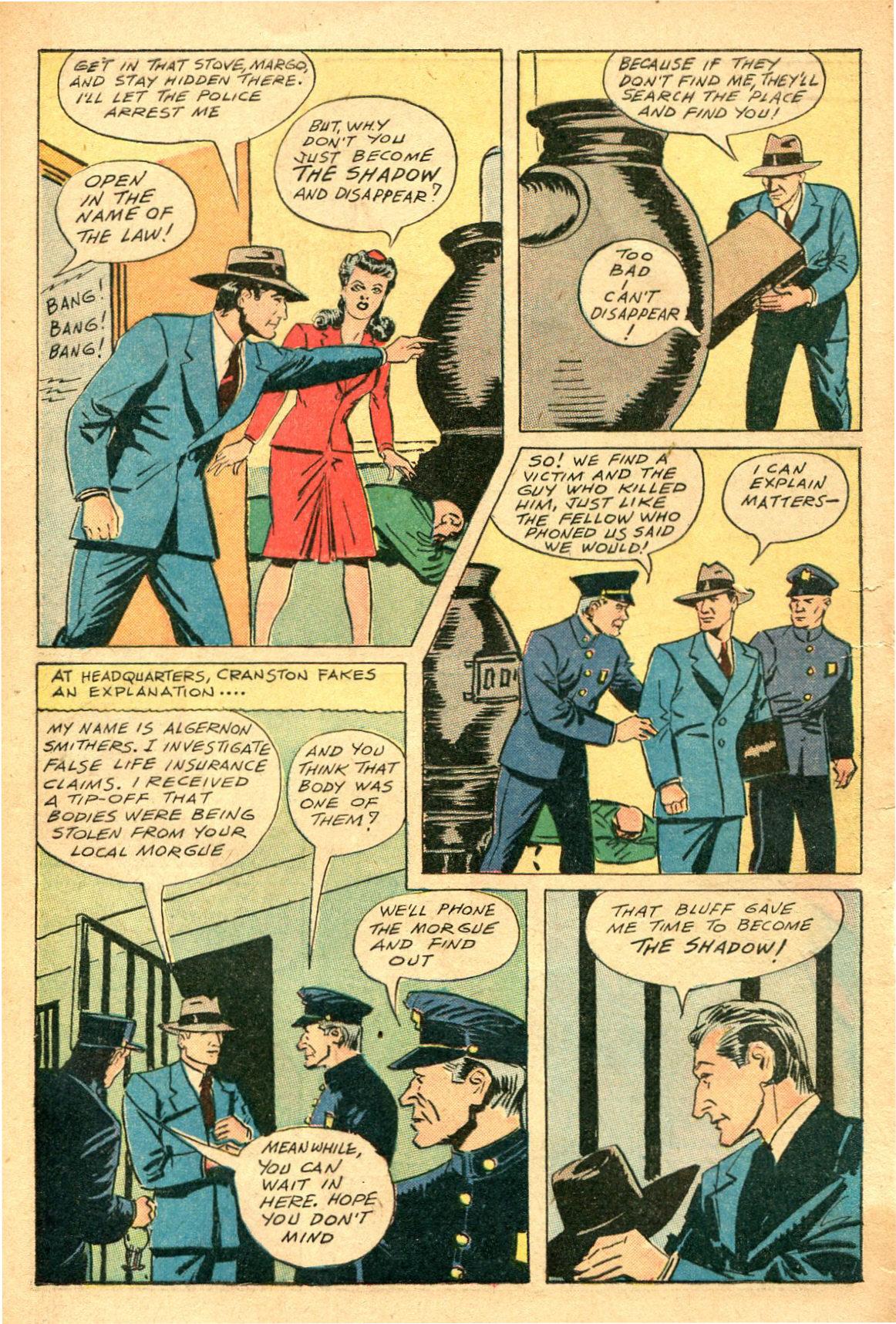 Read online Shadow Comics comic -  Issue #47 - 45