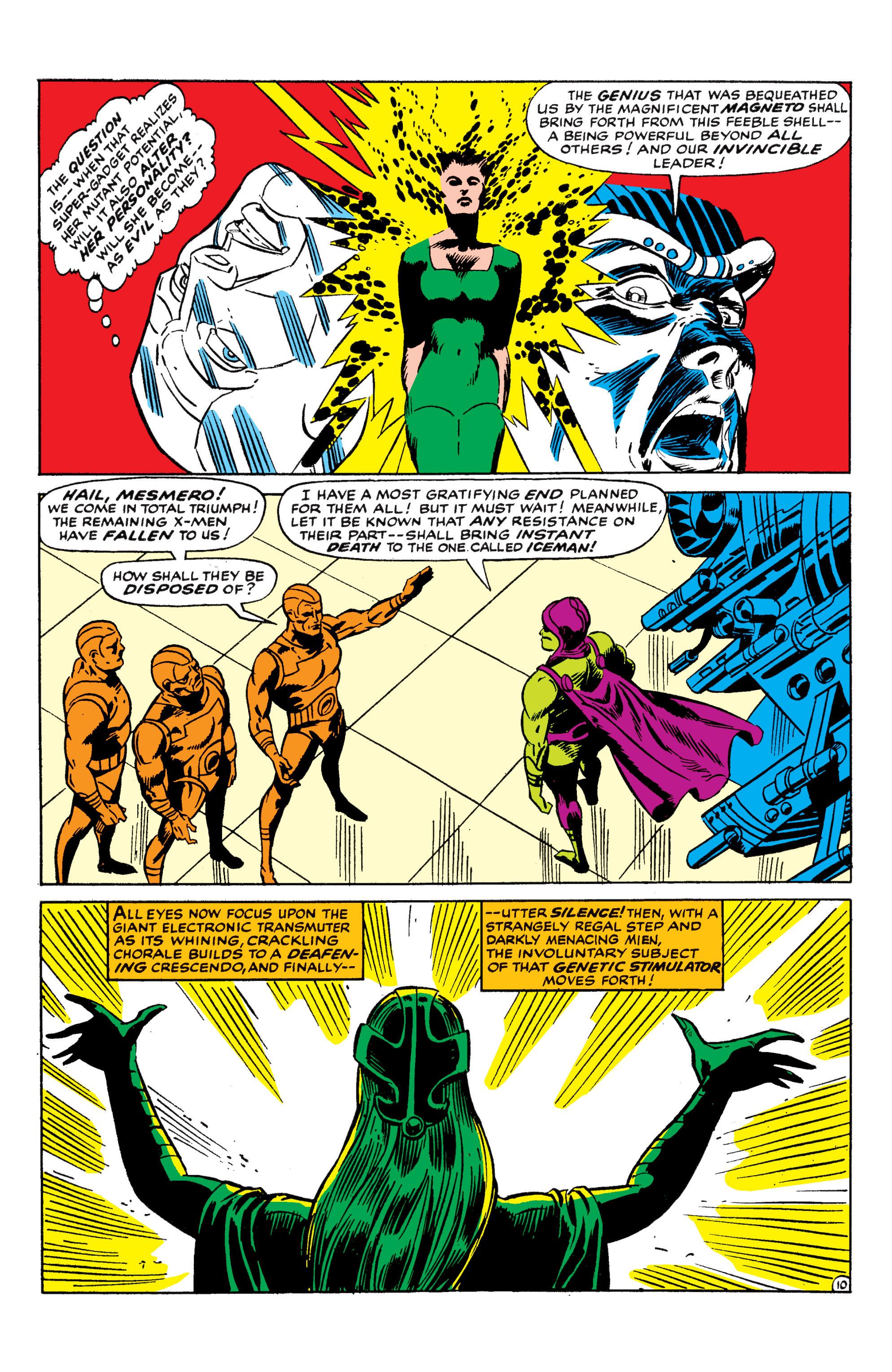 Read online Uncanny X-Men (1963) comic -  Issue #50 - 10