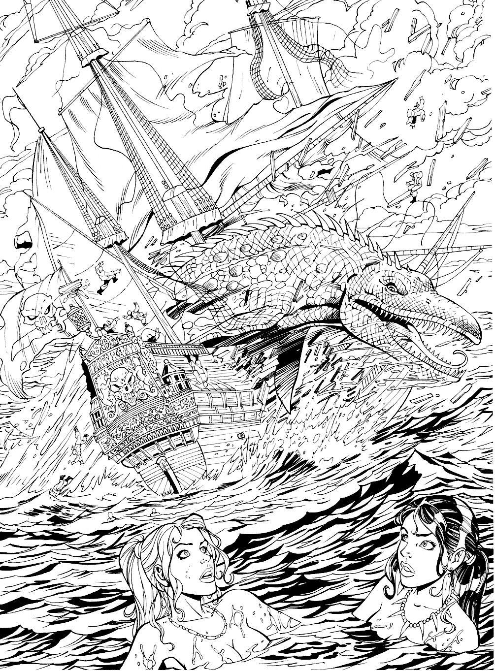 Read online Jungle Fantasy (2002) comic -  Issue #1 - 25