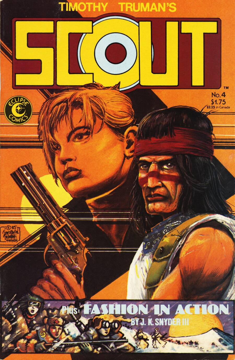 Read online Scout comic -  Issue #4 - 1