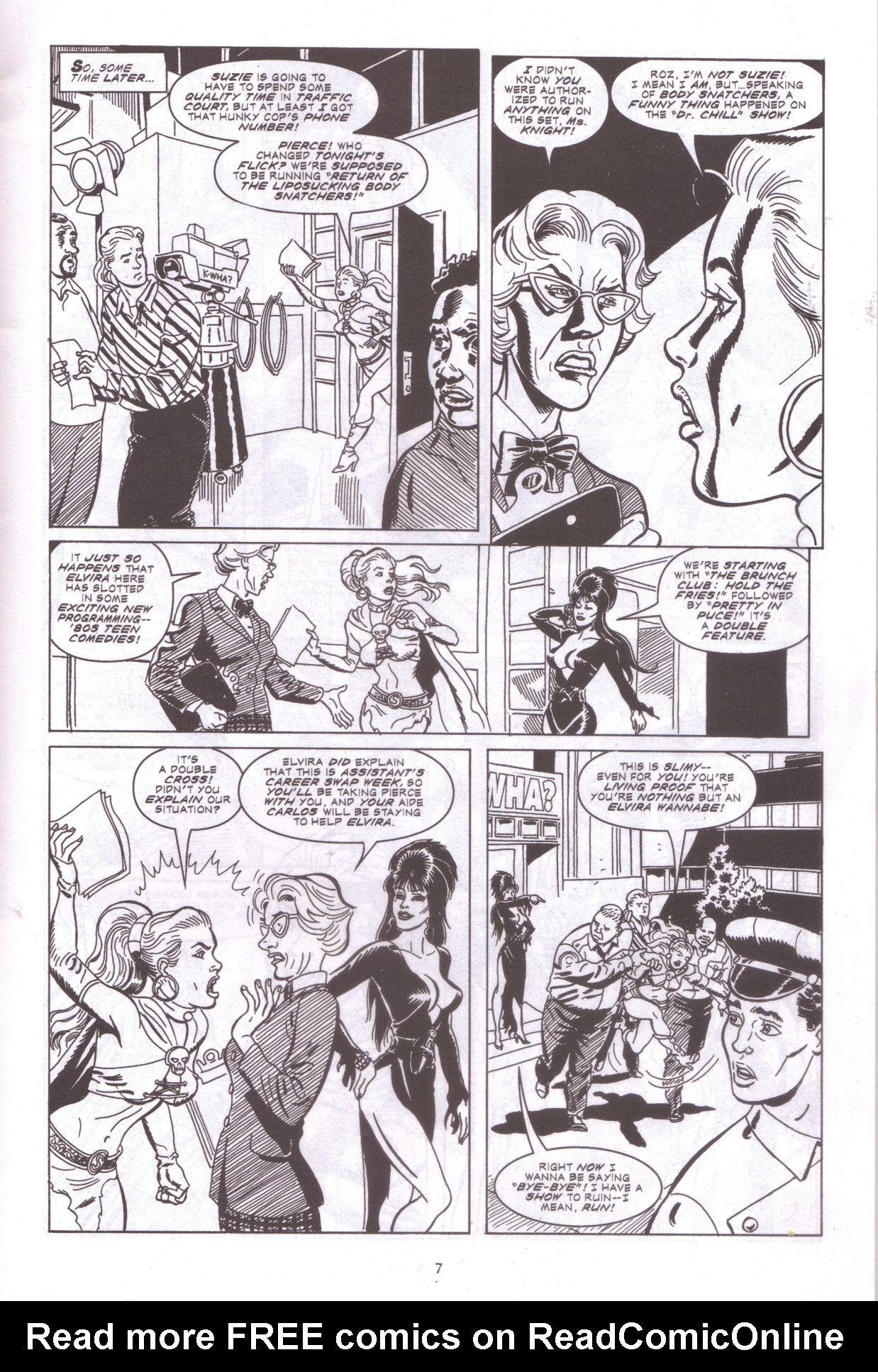Read online Elvira, Mistress of the Dark comic -  Issue #159 - 9