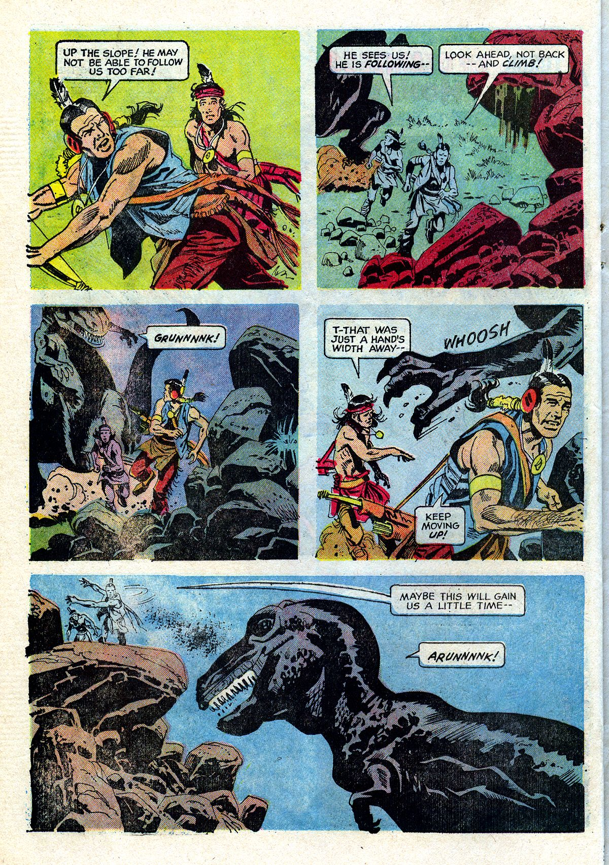 Read online Turok, Son of Stone comic -  Issue #72 - 22