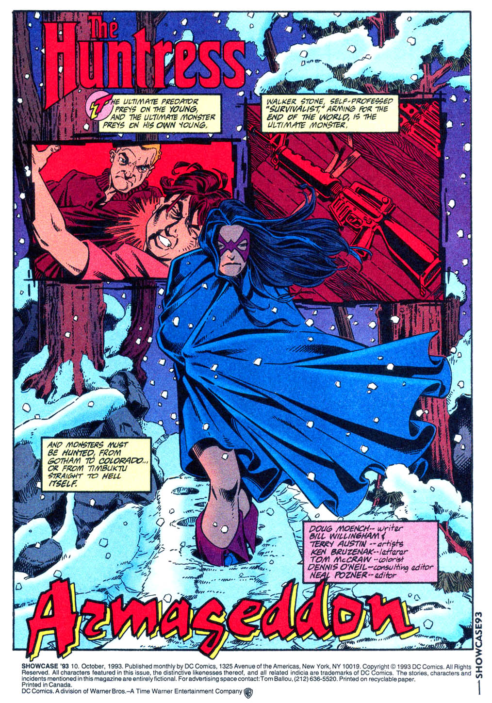 Read online Showcase '93 comic -  Issue #10 - 2