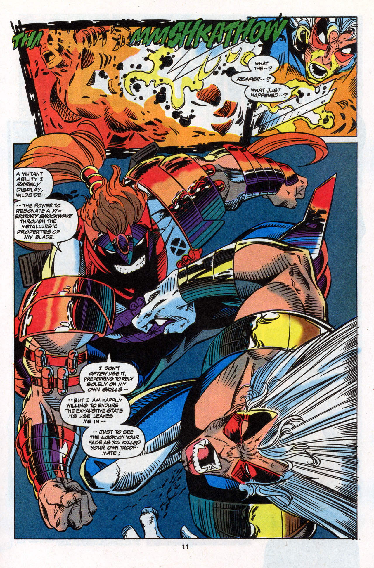 Read online X-Force (1991) comic -  Issue #28 - 12