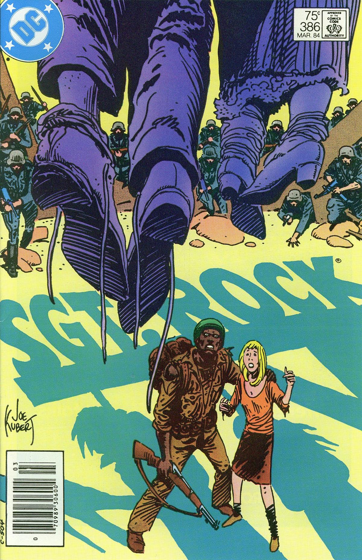 Read online Sgt. Rock comic -  Issue #386 - 1