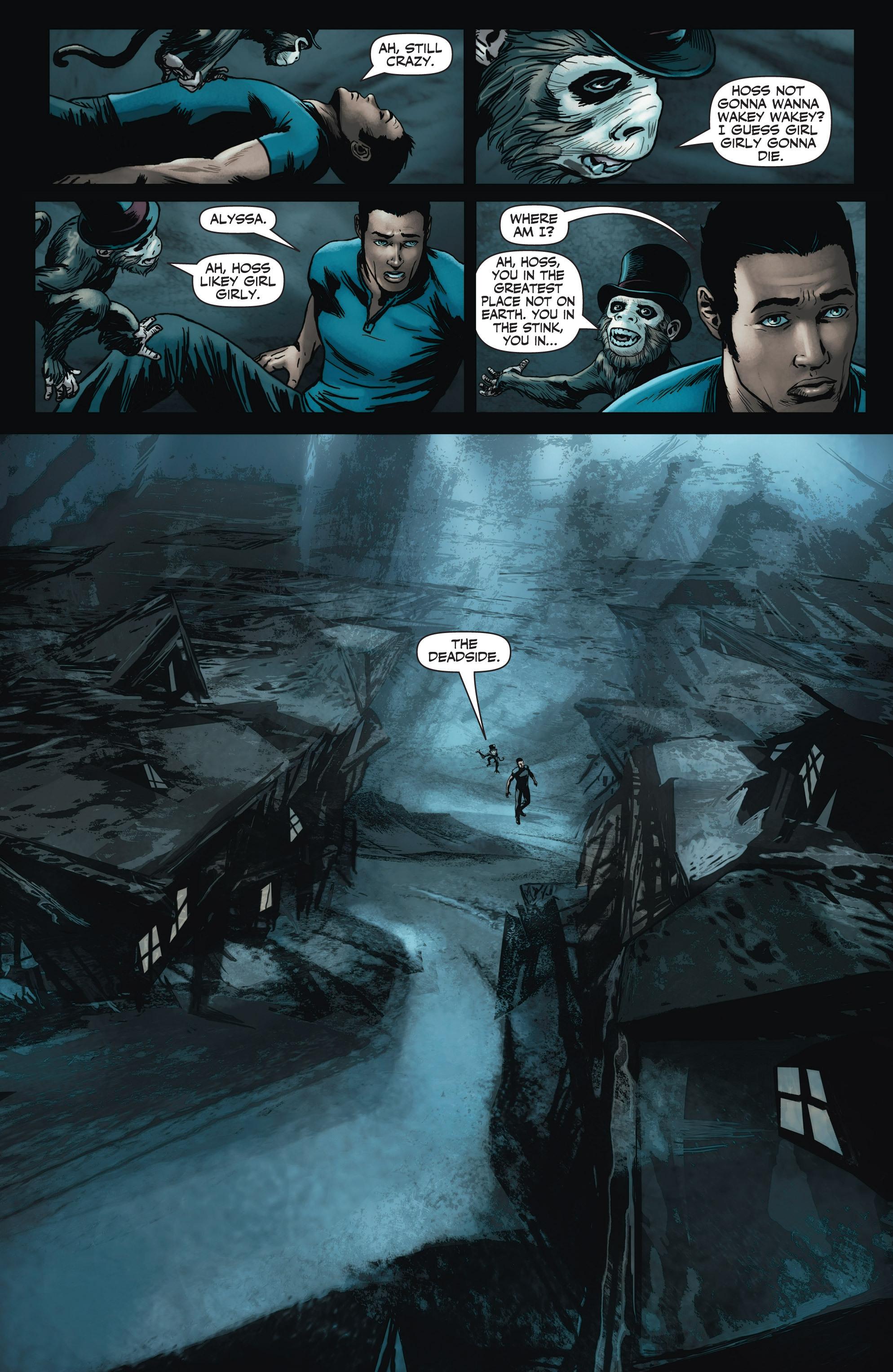 Read online Shadowman (2012) comic -  Issue #3 - 11