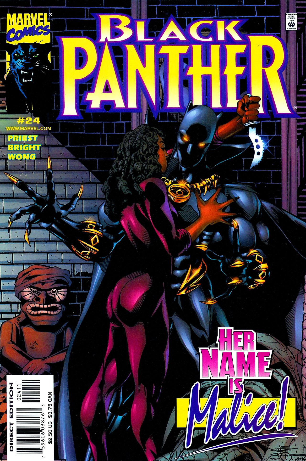 Black Panther (1998) 24 Page 1