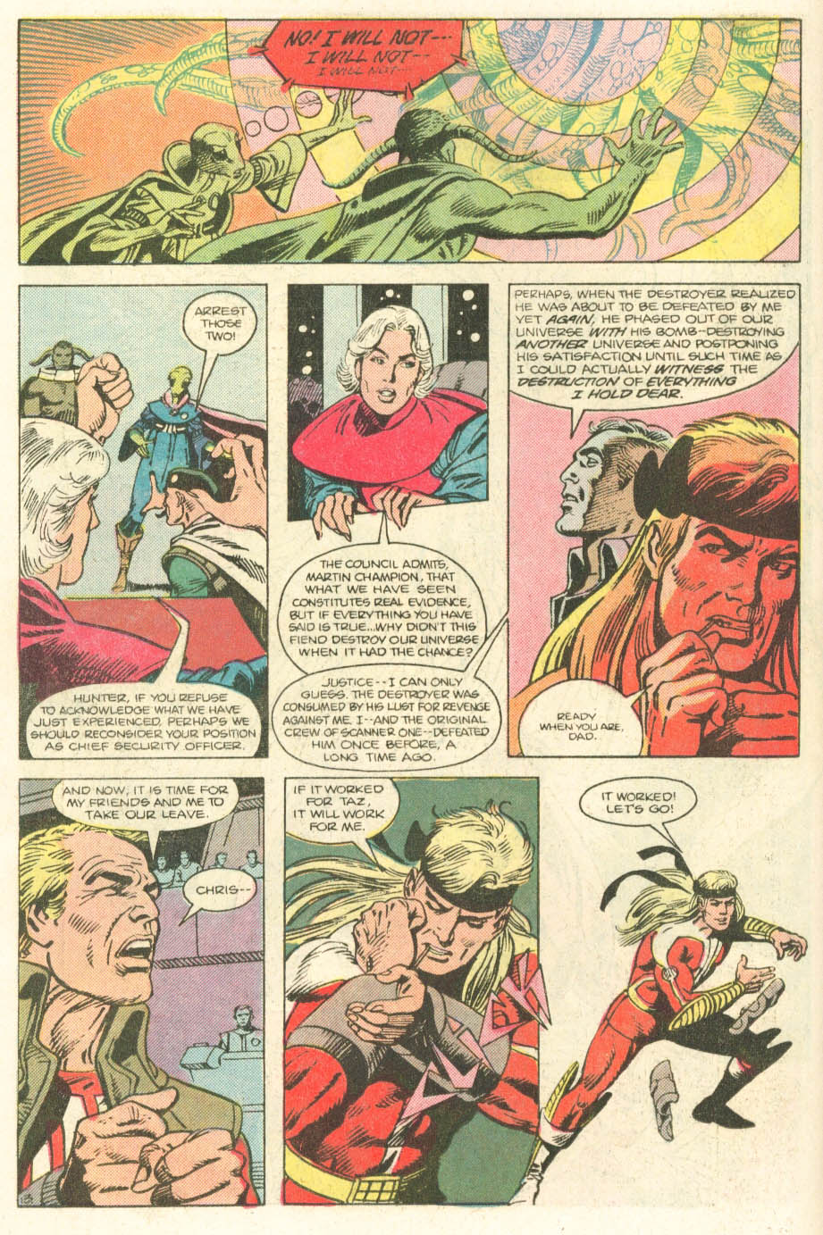 Read online Atari Force (1984) comic -  Issue #20 - 15