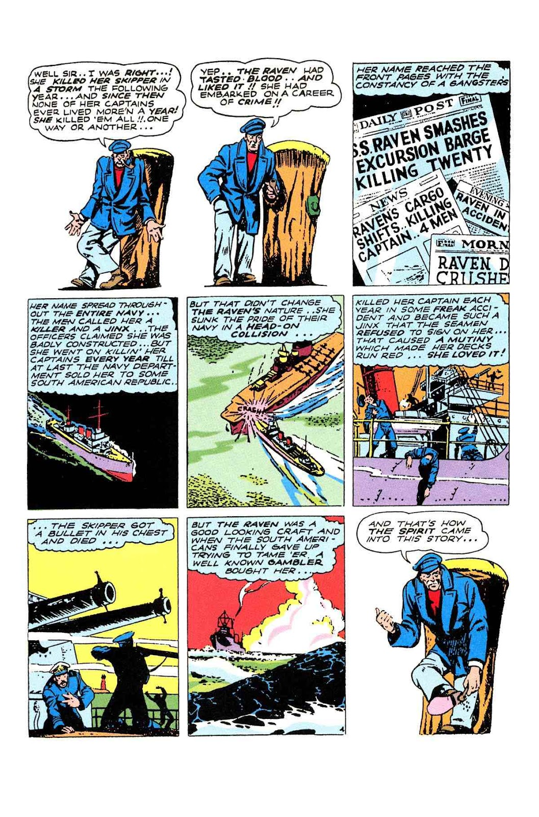 Read online Will Eisner's The Spirit Archives comic -  Issue # TPB 2 (Part 2) - 24