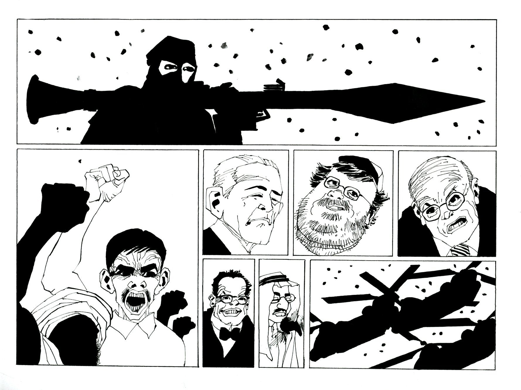 Read online Frank Miller's Holy Terror comic -  Issue # TPB - 65